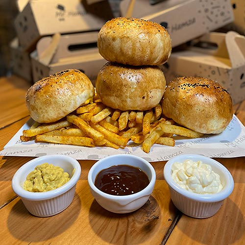 Mr. Hamza - Hamburger & Pizza burger galeri 02